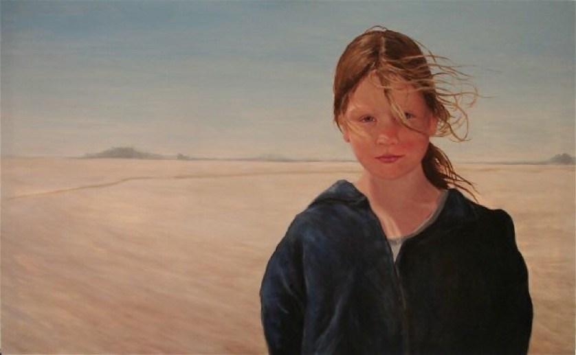 """Ellie"" original fine art by Allison Doke"