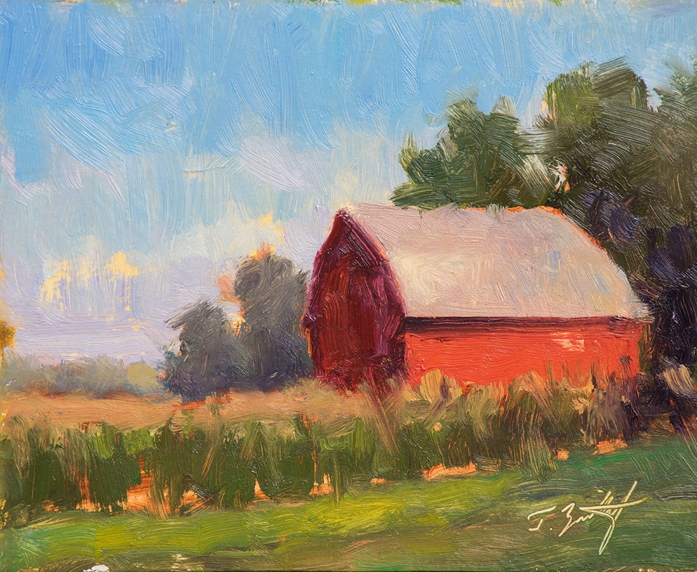 """Hartland Soul"" original fine art by Todd Zuithof"