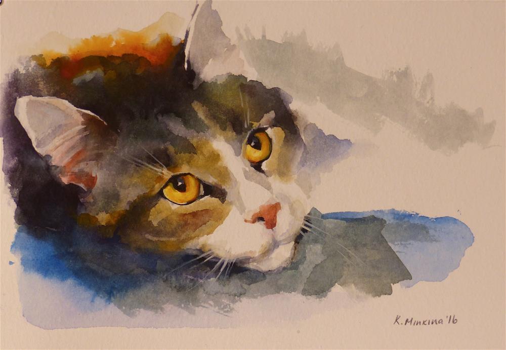 """adopt155"" original fine art by Katya Minkina"