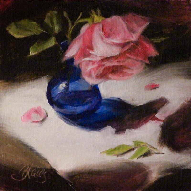 """Fading Beauty"" original fine art by Pamela Blaies"