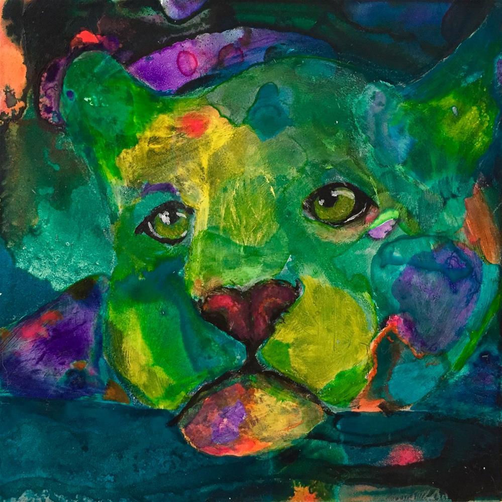 """#10 Memories"" original fine art by Silke Powers"