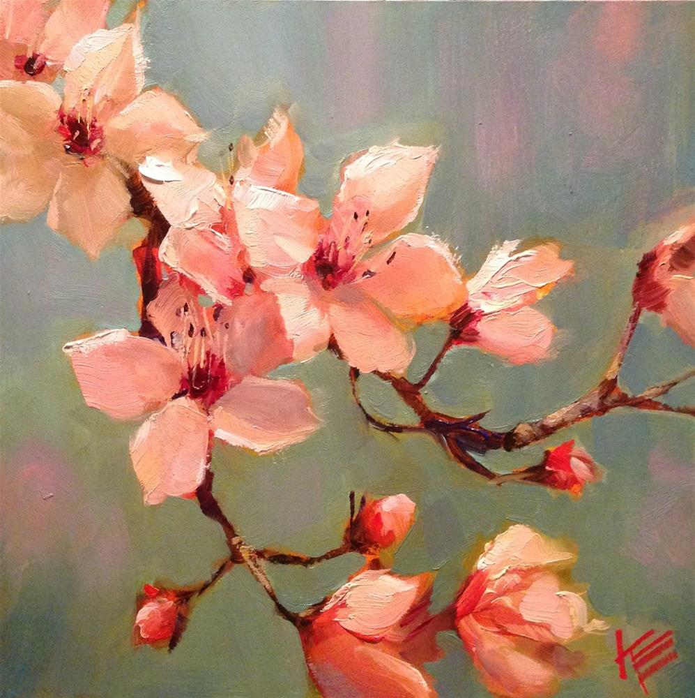 """Bloom"" original fine art by Krista Eaton"