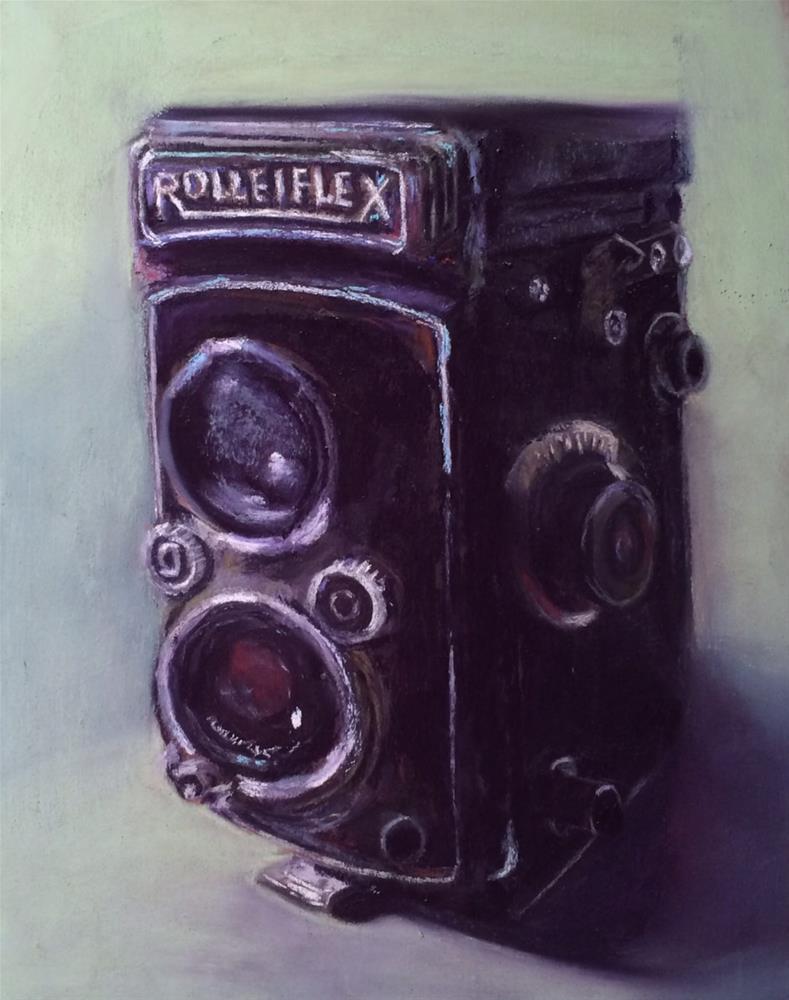 """Rollei"" original fine art by Cristine Kossow"