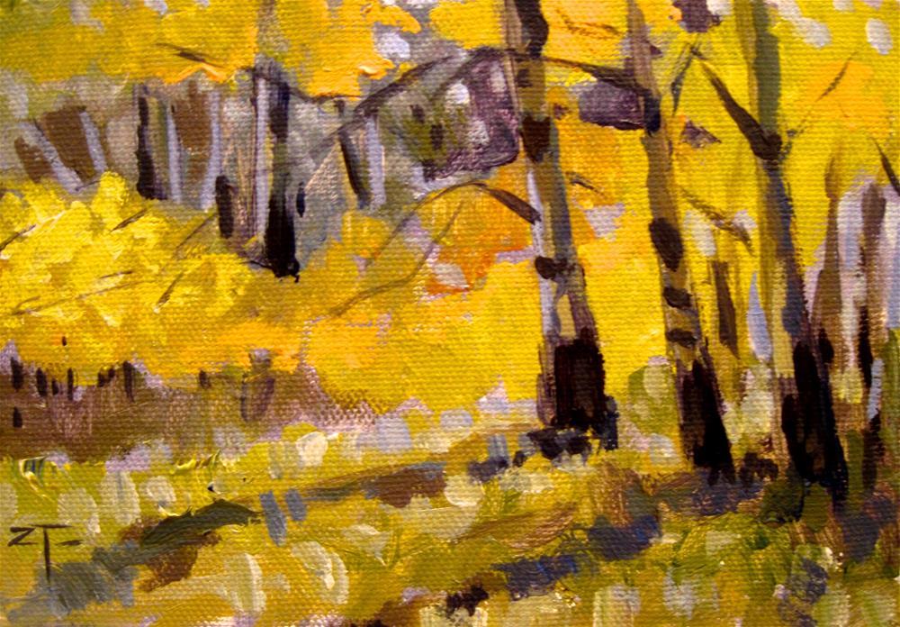 """""""East Fork Grove"""" original fine art by Zack Thurmond"""