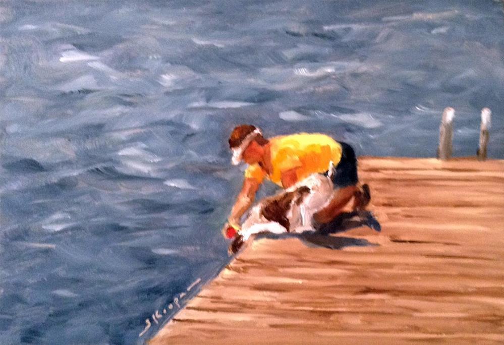 """""""You Can Get It!"""" original fine art by Shelley Koopmann"""