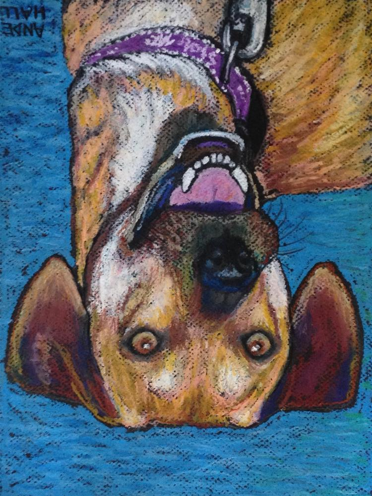 """Buck"" original fine art by Ande Hall"