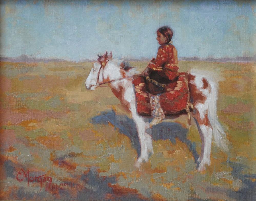 """Desert Memories"" original fine art by Cecile W. Morgan"