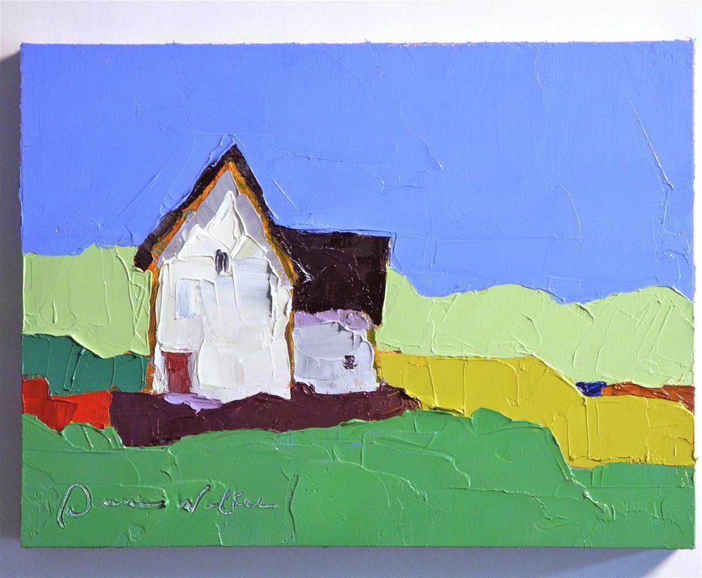 """""""Simplicity"""" original fine art by Donna Walker"""