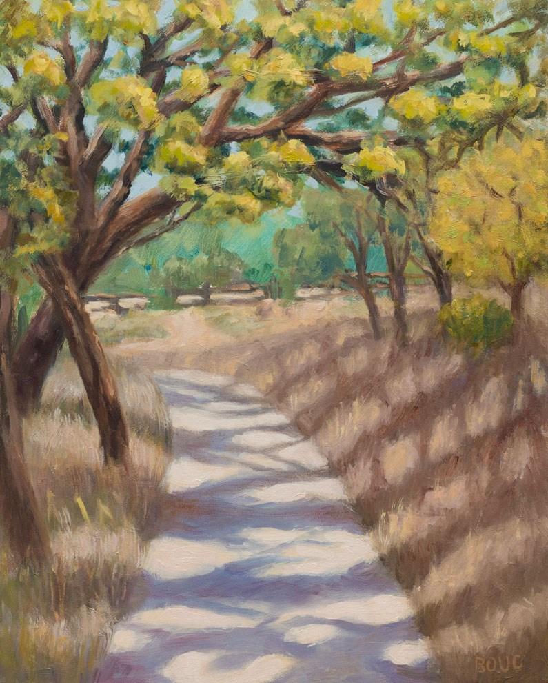 """Briones Park Summer Day"" original fine art by Jana Bouc"