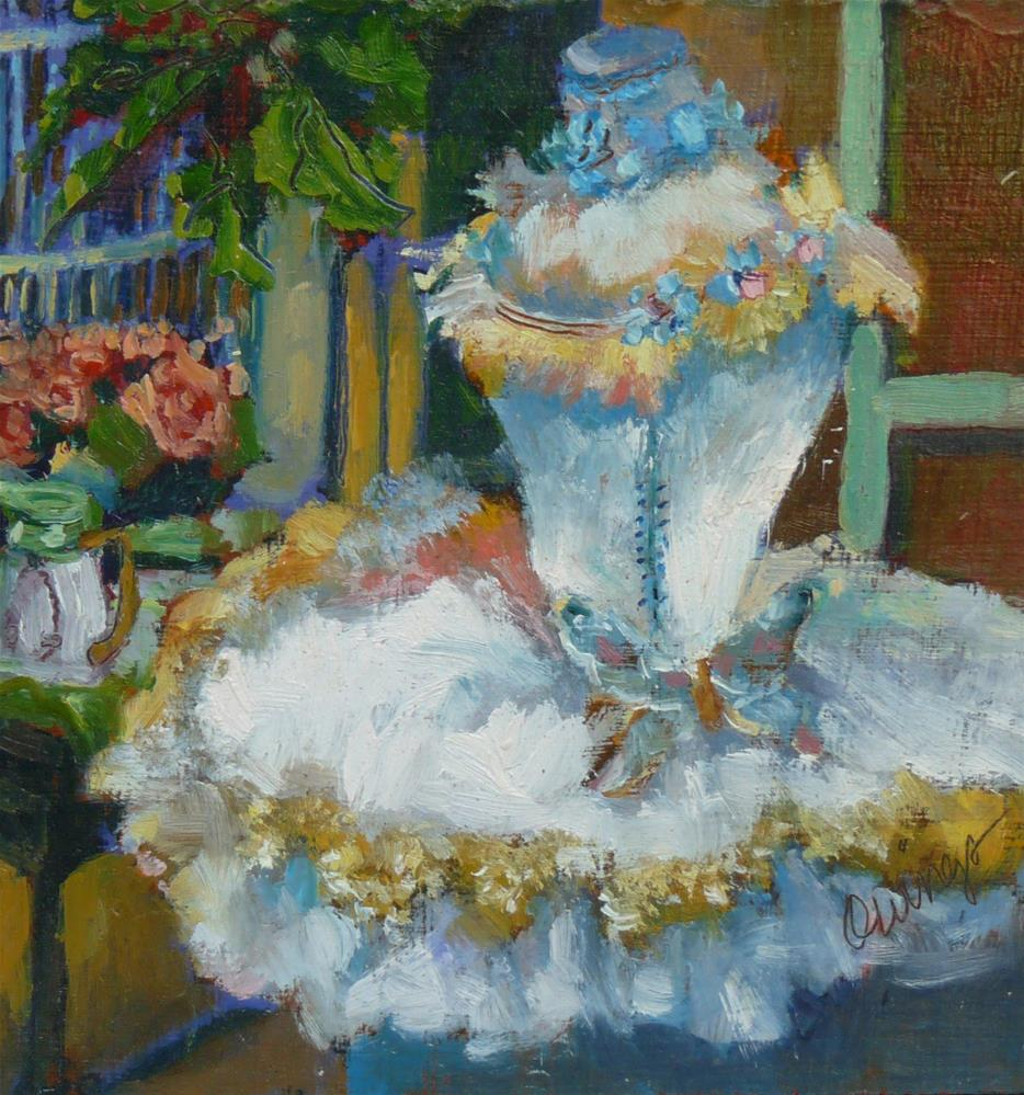"""""""To Be A Princess"""" original fine art by Sharman Owings"""