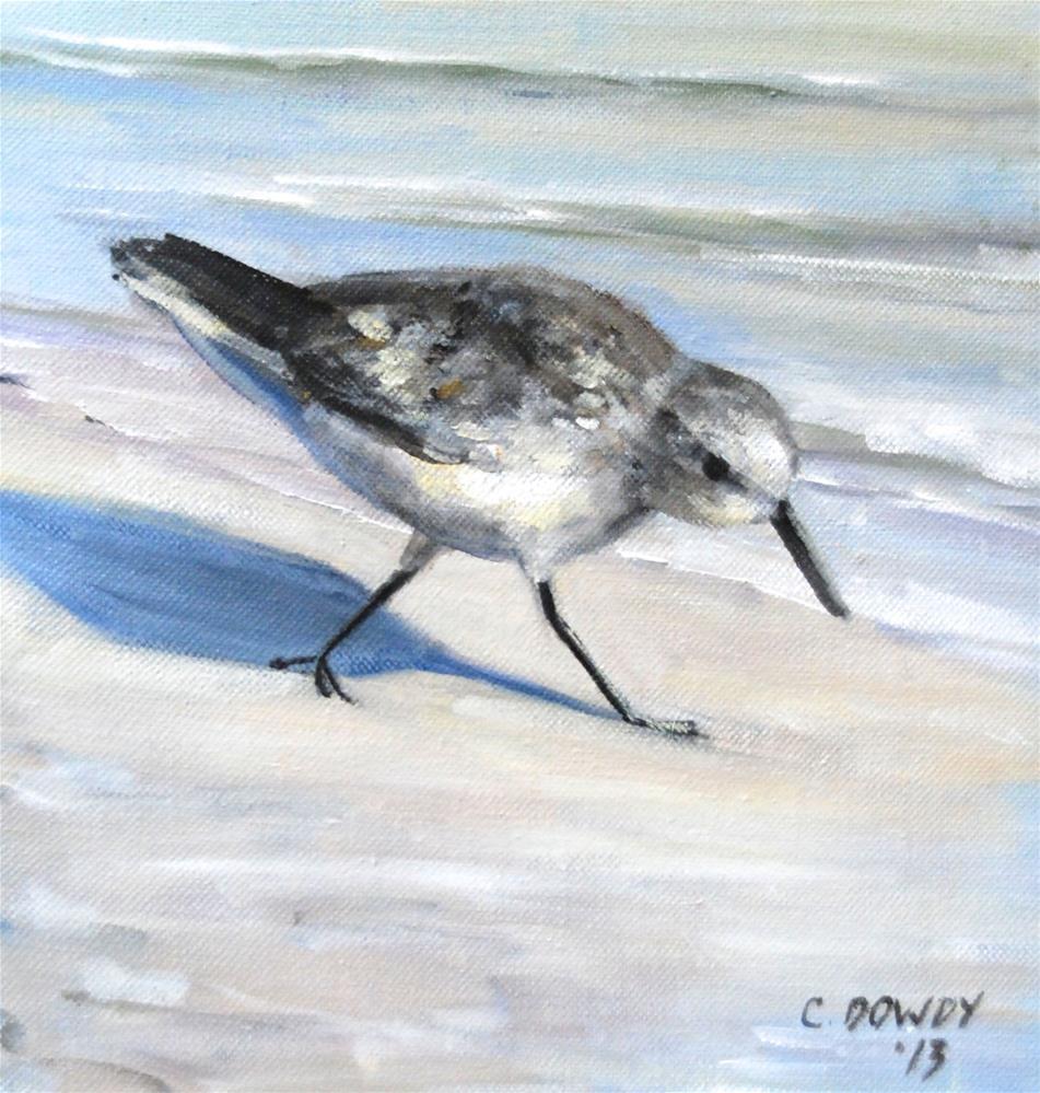 """On a Mission"" original fine art by Christina Dowdy"