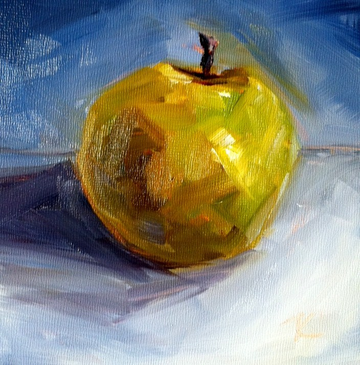 """Valuapple"" original fine art by Kristen Dukat"