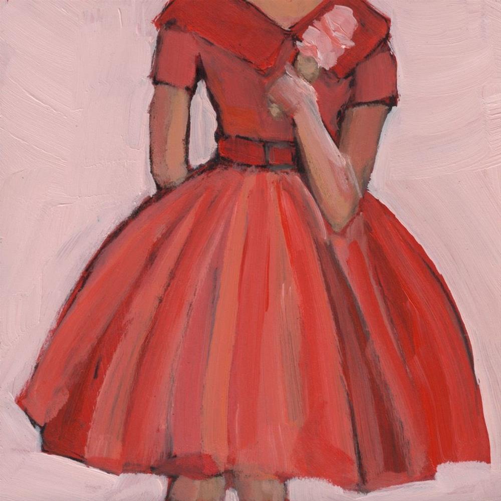 """""""Cherry Vanilla (#377)"""" original fine art by Debbie Miller"""