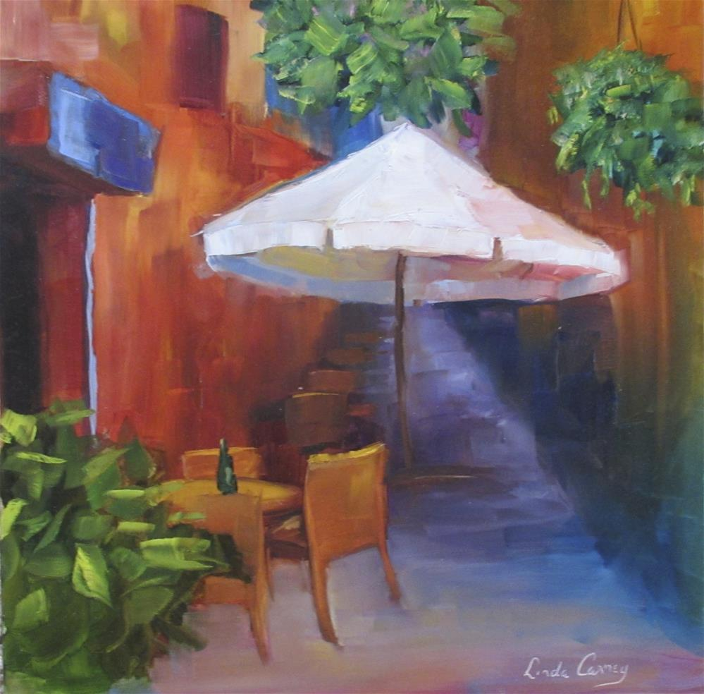 """Quiet Afternoon"" original fine art by Linda Carney"