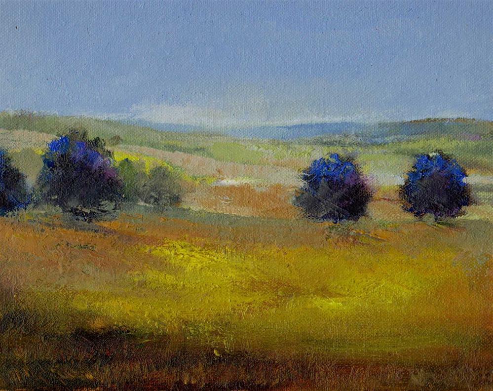 """2014. Fall"" original fine art by Mark DeBak"