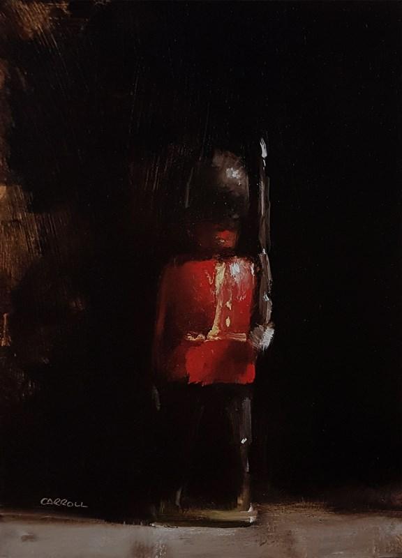 """Guardsman"" original fine art by Neil Carroll"