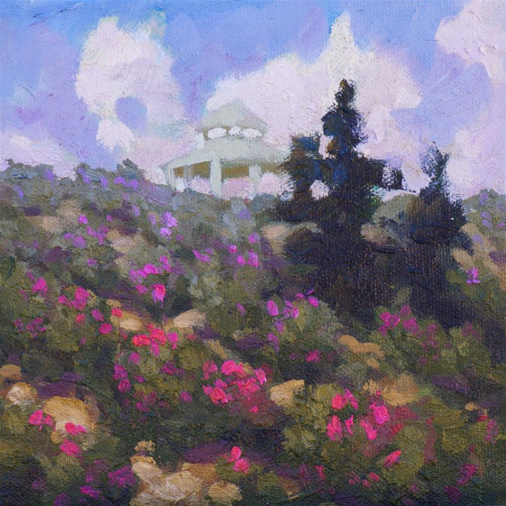 """""""Desert Rose"""" original fine art by Mary Mulvihill"""