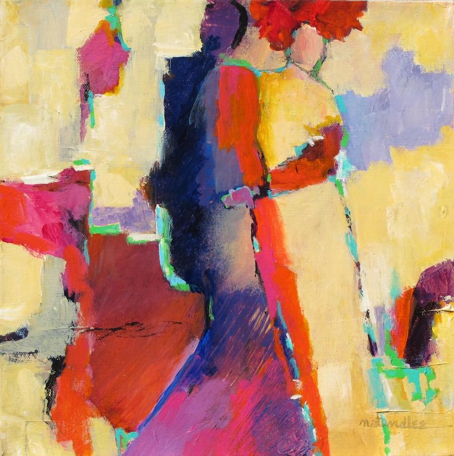 """Enchantment 11101  SOLD"" original fine art by Nancy Standlee"