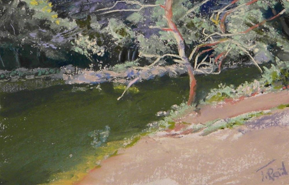 """By the creek"" original fine art by Toby Reid"