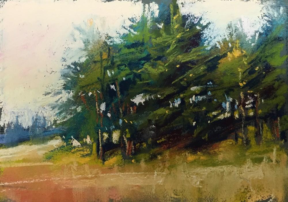 """Afternoon Delight"" original fine art by Marla Baggetta"