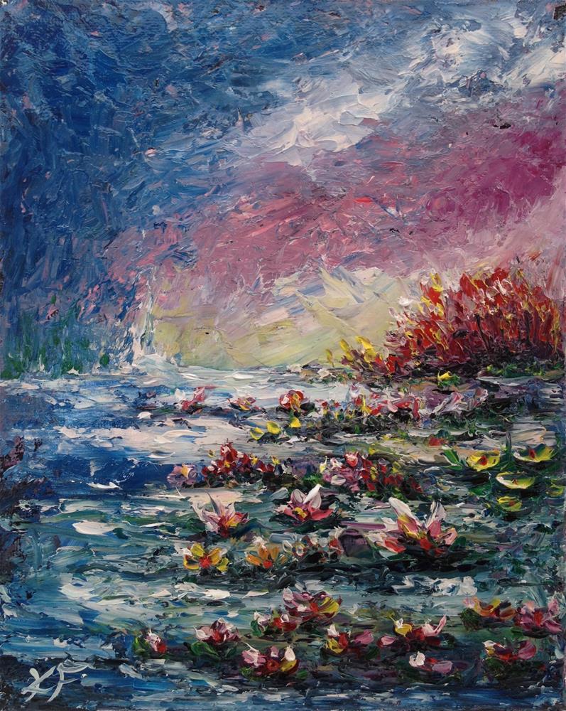 """""""Surface Beauty"""" original fine art by Ken Fraser"""