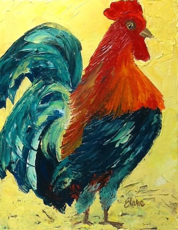 """""""Same Bird Different Day"""" original fine art by Elaine Ford"""
