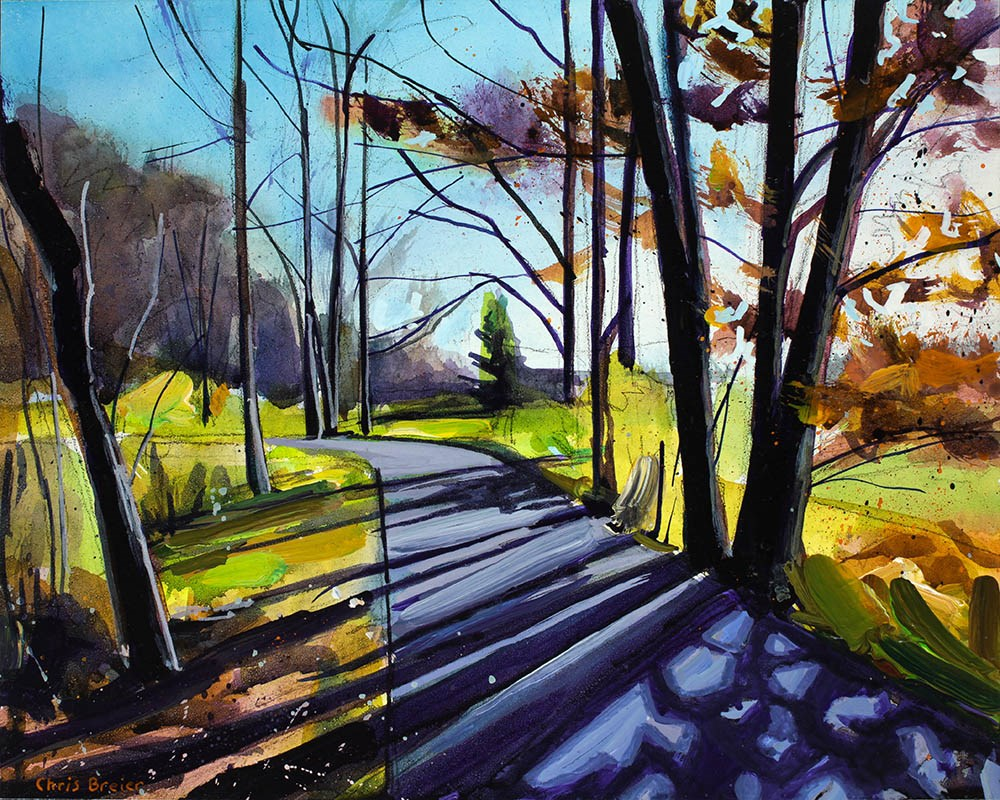 """Autumn Afternoon"" original fine art by Chris Breier"