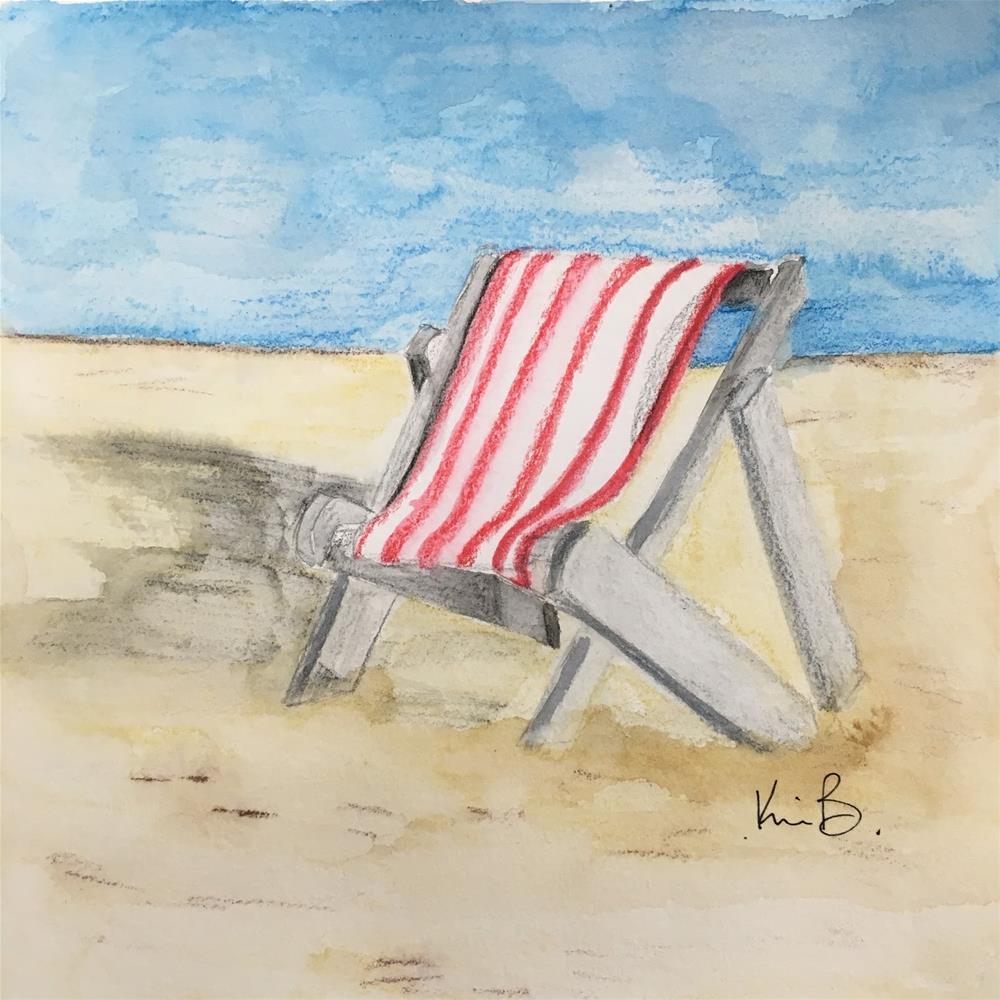 """My Summer Spot"" original fine art by Kimberly Balentine"