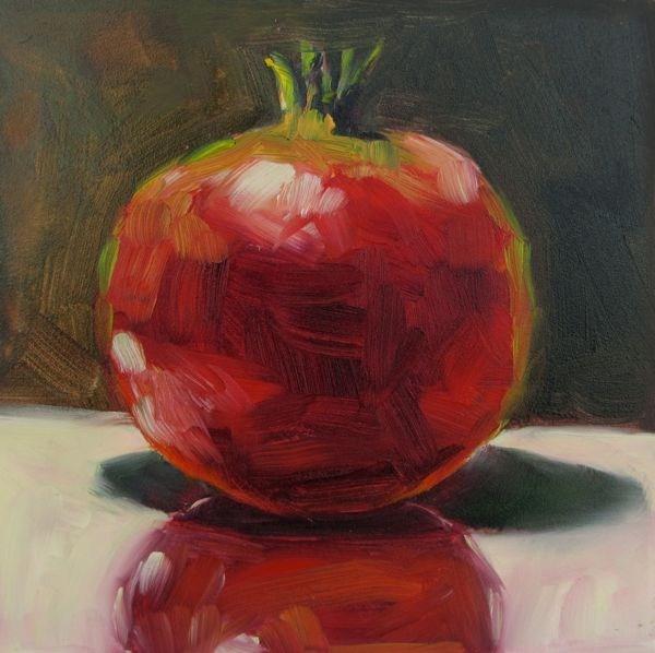 """Perfect Pom"" original fine art by Mb Warner"
