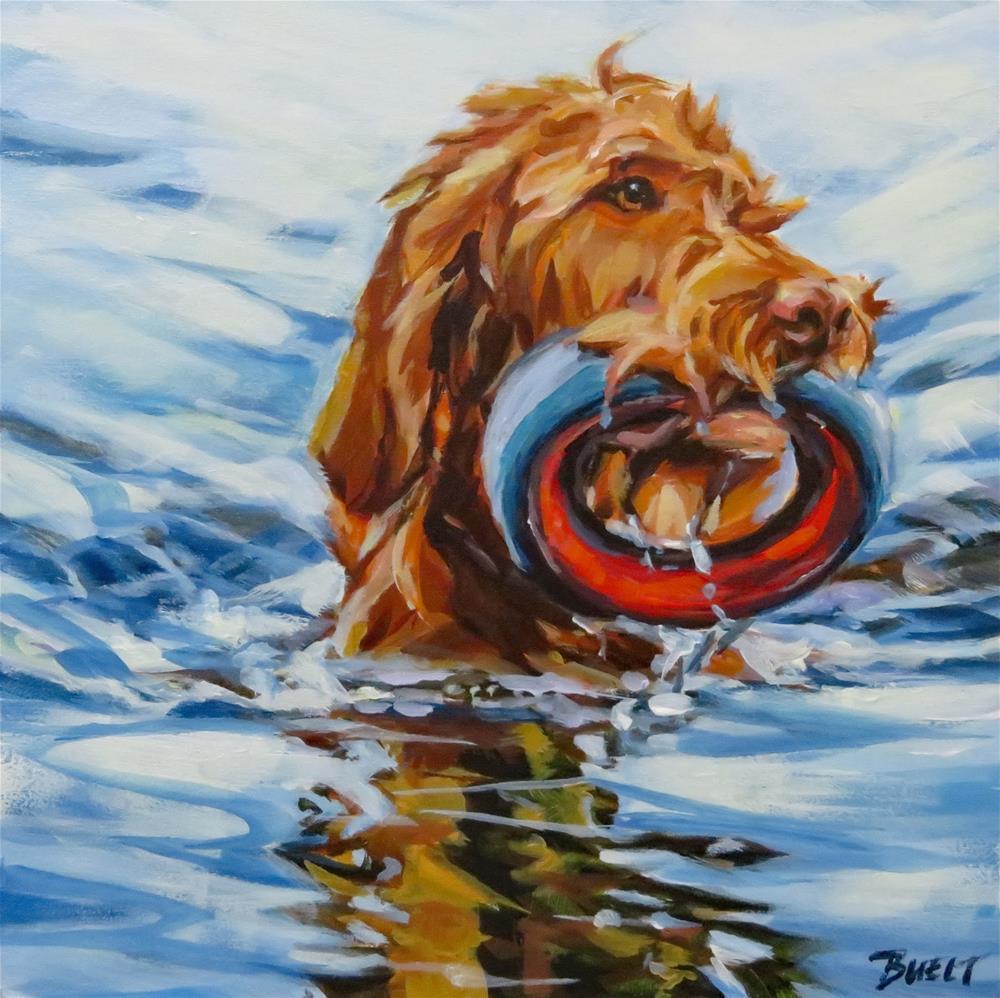 """Water Doodle"" original fine art by Shari Buelt"