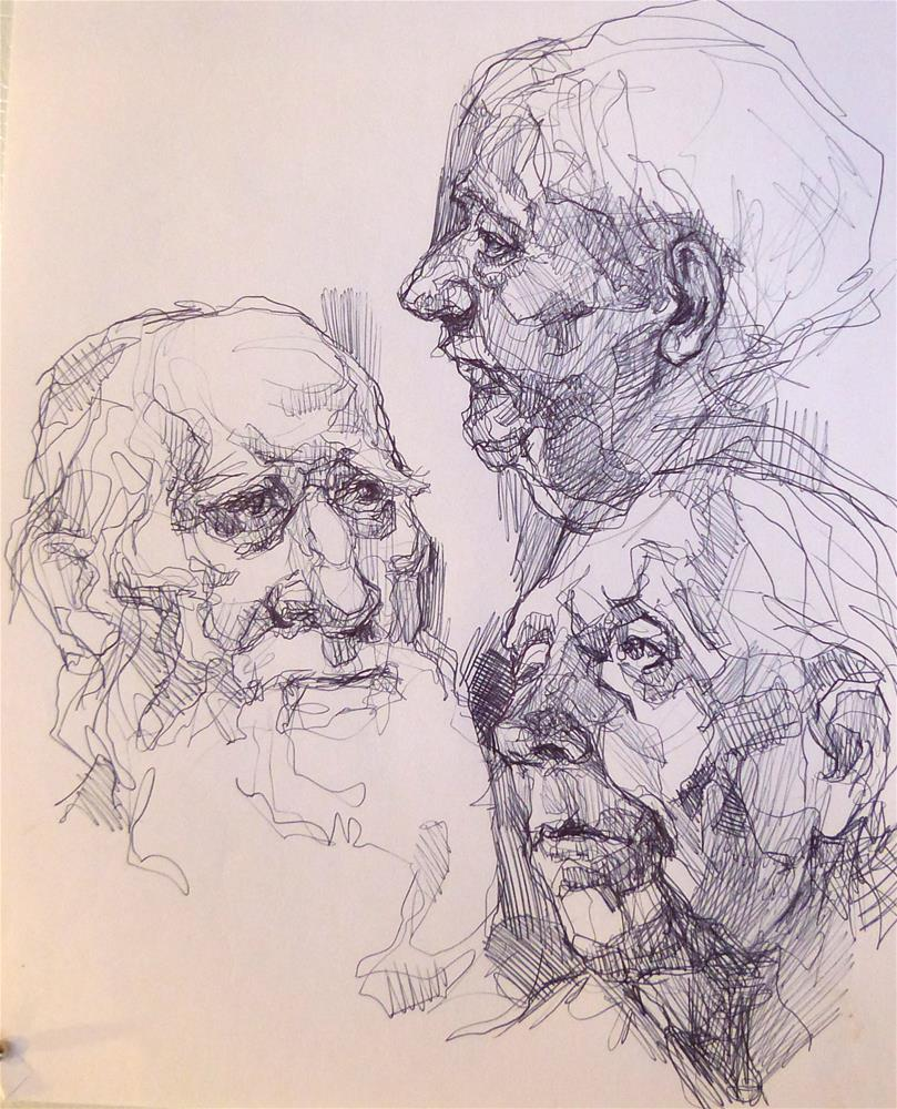 """sketchbook33"" original fine art by Katya Minkina"
