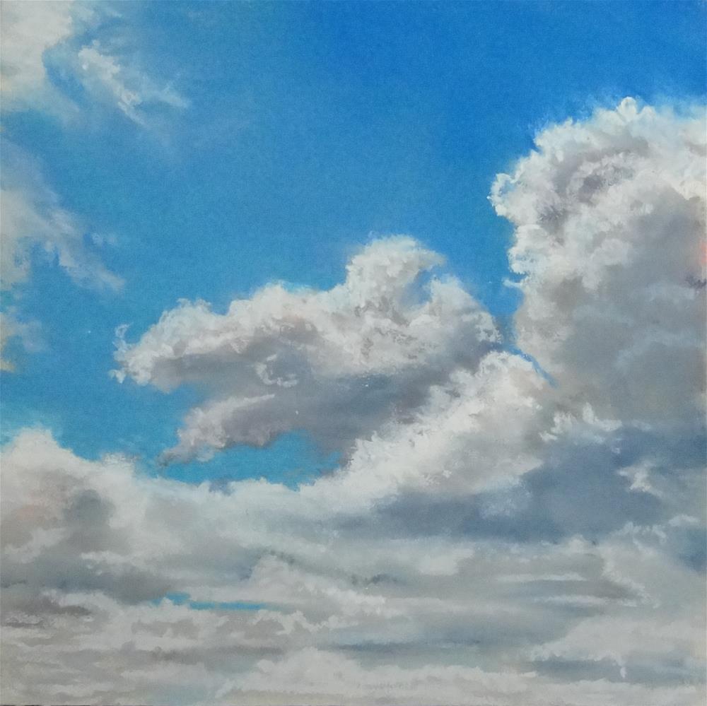 """Sky #11"" original fine art by Denise Beard"
