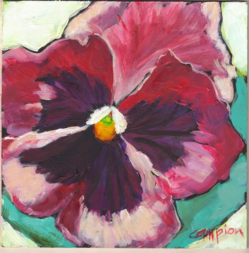 """""""355 Misunderstood"""" original fine art by Diane Campion"""