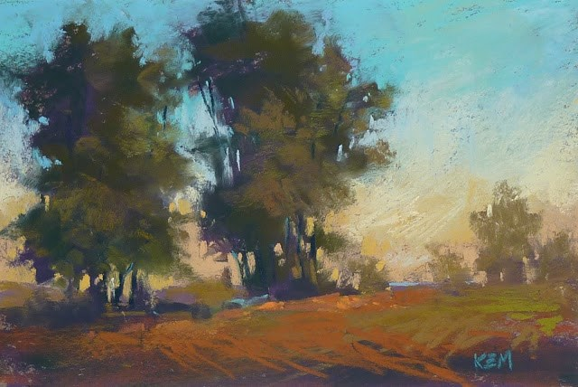 """""""Now You Can Watch Me Paint Live on Periscope!"""" original fine art by Karen Margulis"""