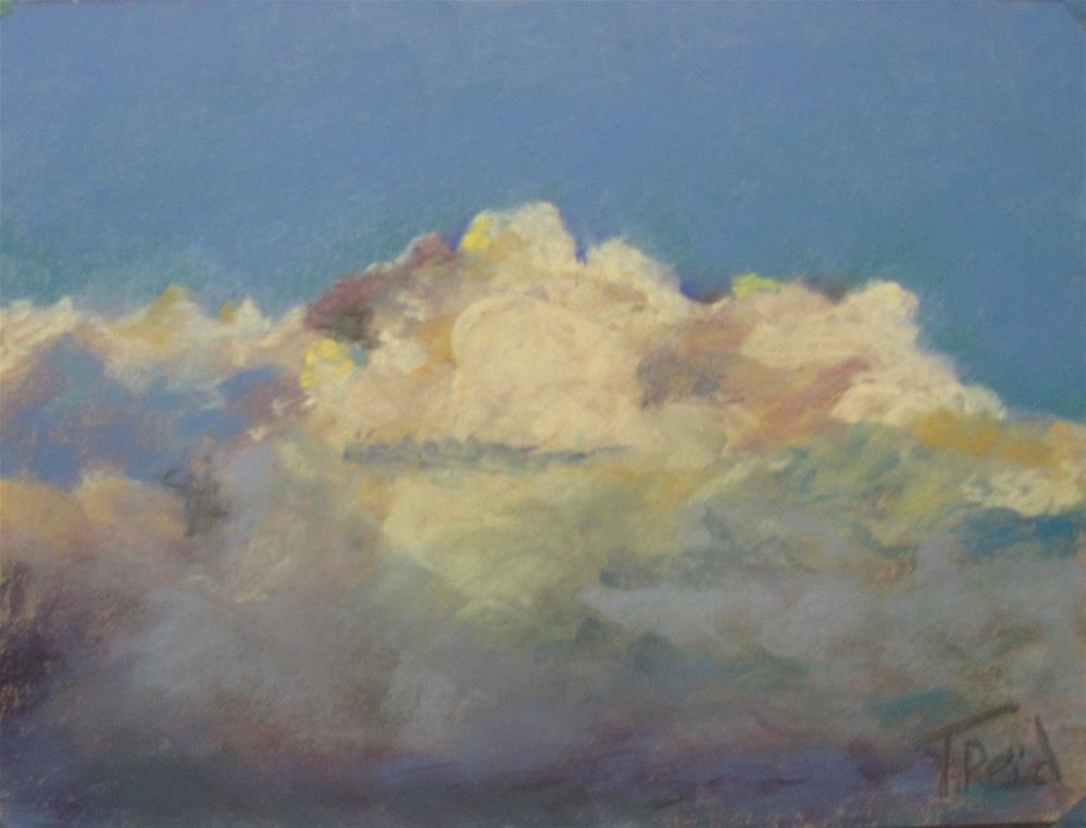 """""""Clouds #7"""" original fine art by Toby Reid"""