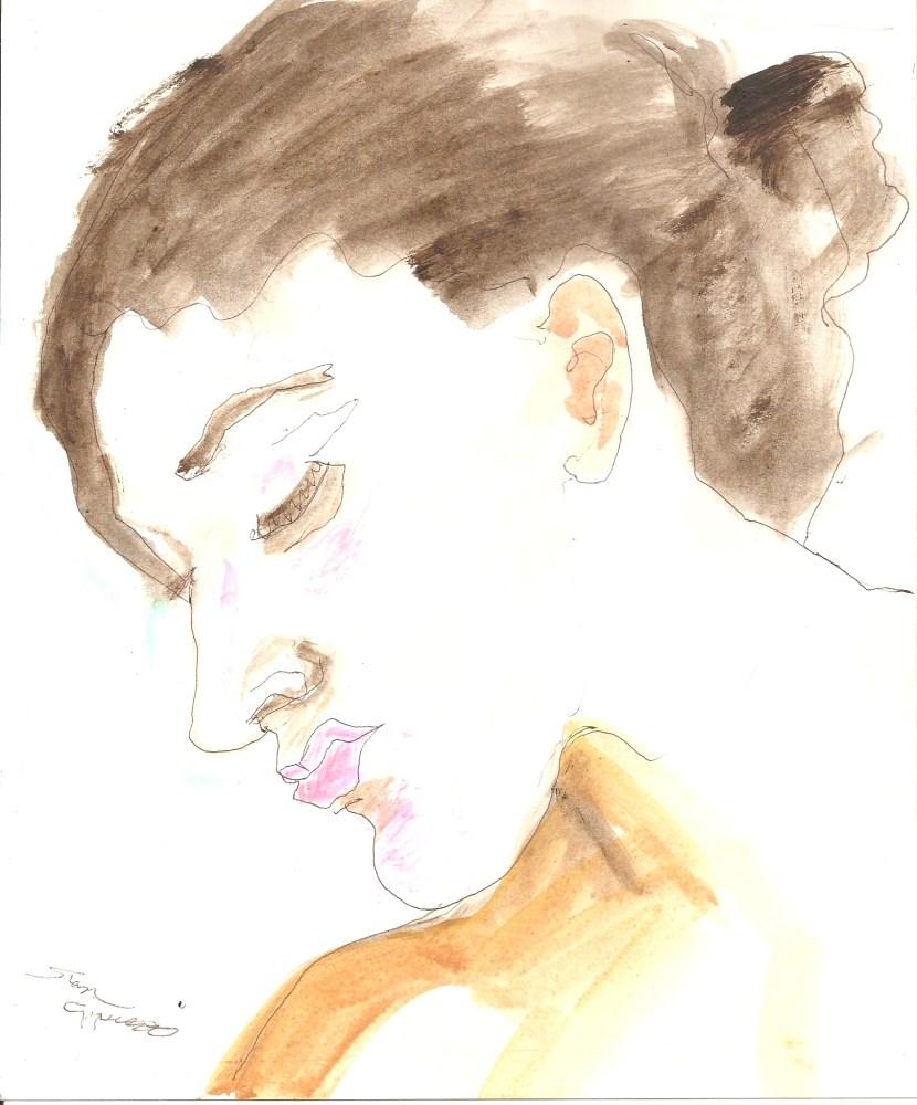 """Umber"" original fine art by Stanley Epperson"