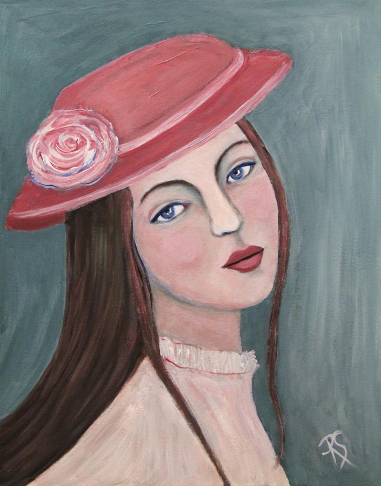 """""""Laurel"""" original fine art by Roberta Schmidt"""