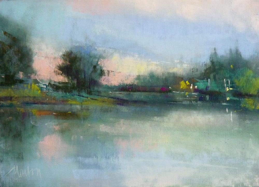 """""""Quietude"""" original fine art by Barbara Benedetti Newton"""