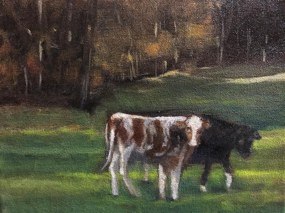 """""""two girls hanging out"""" original fine art by Betty Argiros"""
