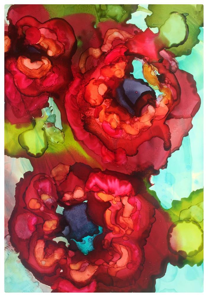 """""""Poppies"""" original fine art by Kelly Alge"""
