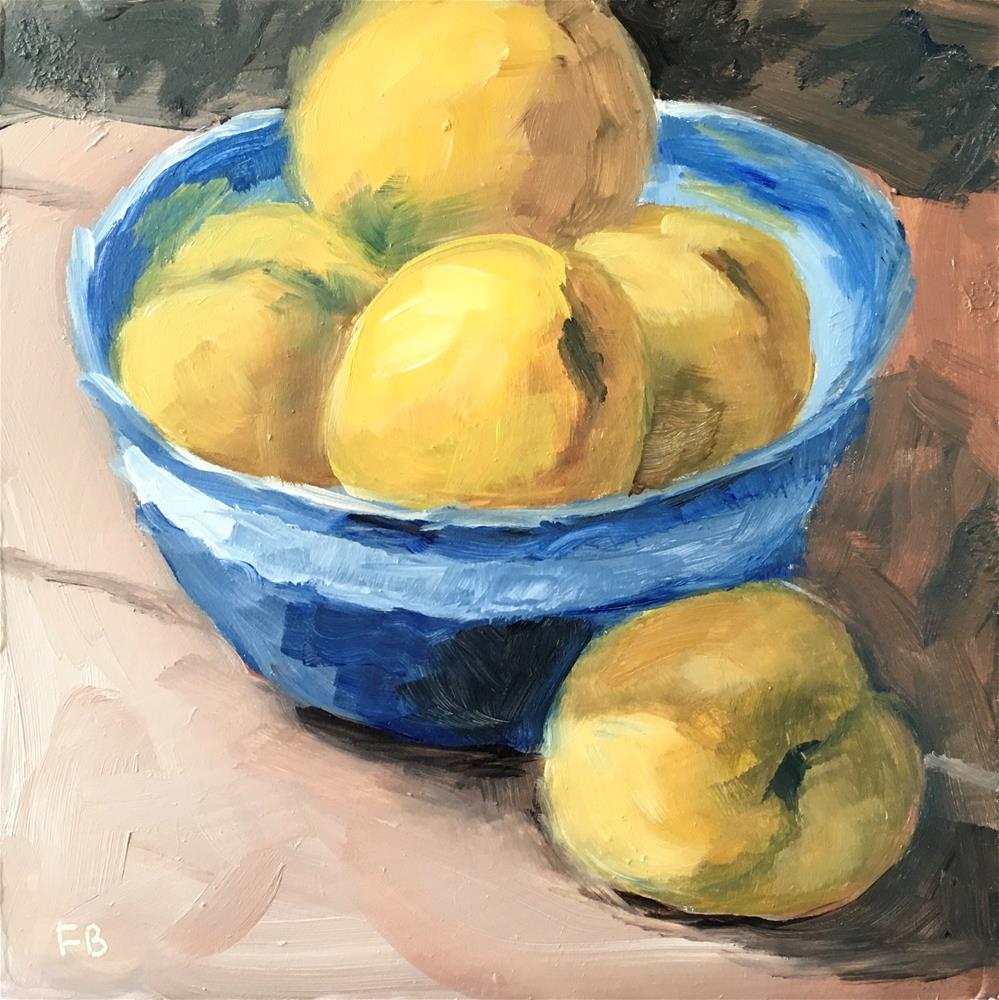 """""""311 Apricots"""" original fine art by Fred Bell"""