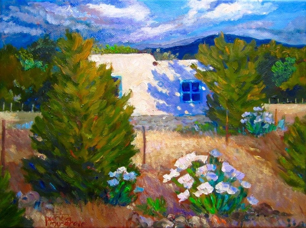 """Southwest Sunrise"" original fine art by Patricia Musgrave"