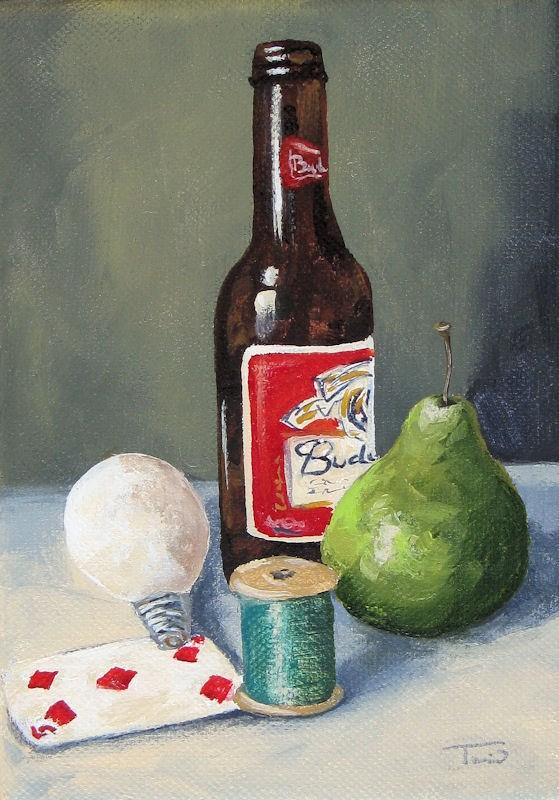 """The Random Five"" original fine art by Torrie Smiley"