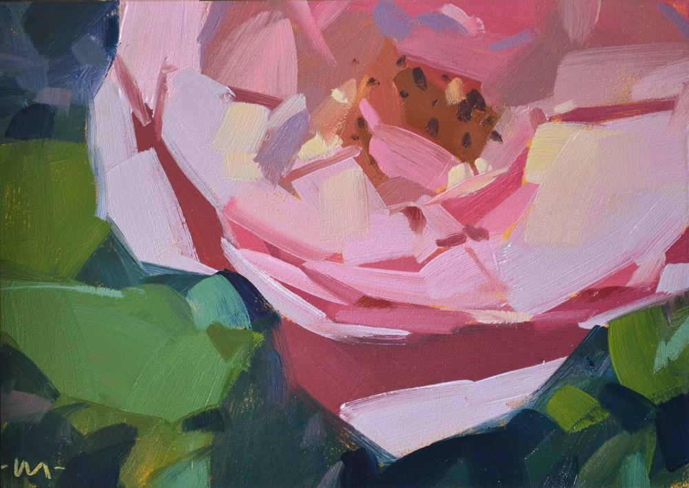 """Delicate Pink"" original fine art by Carol Marine"