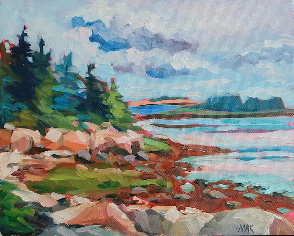 """""""Down East"""" original fine art by Mary Anne Cary"""