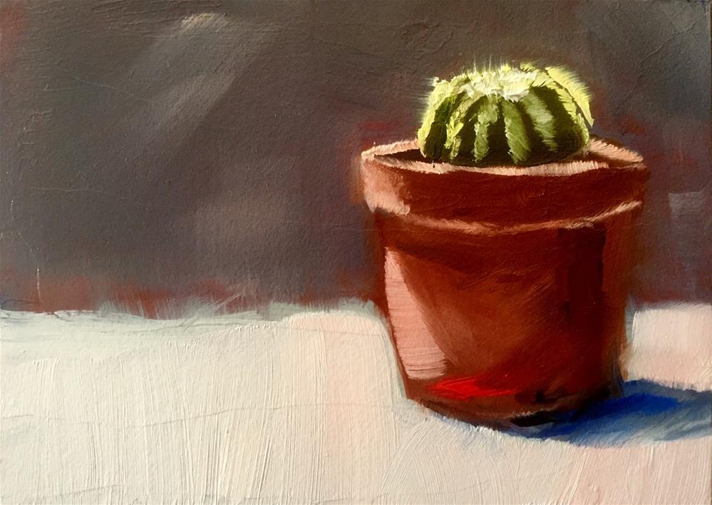 """""""Cactus Study"""" original fine art by Gary Bruton"""