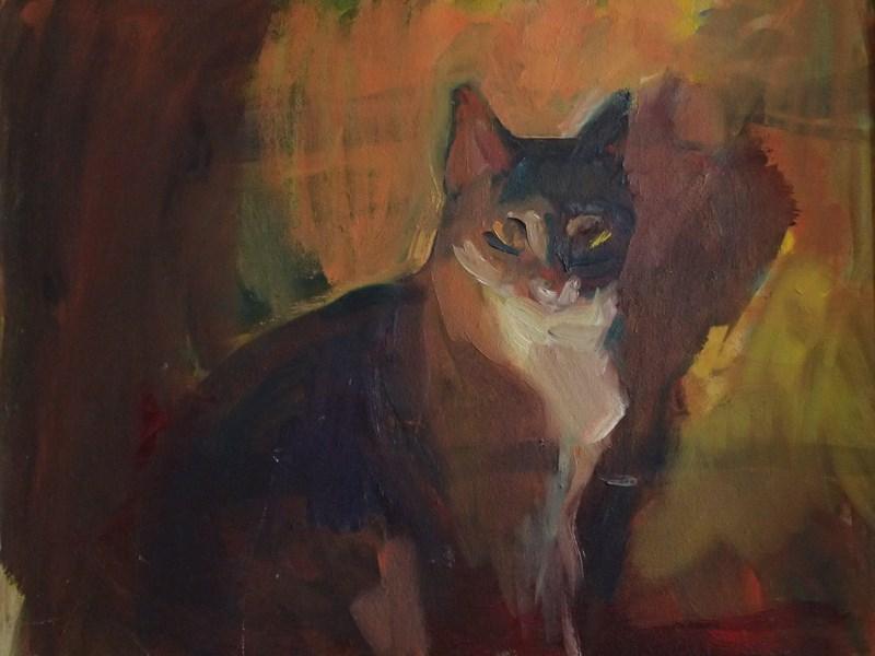 """Chouinard"" original fine art by Sharon Savitz"