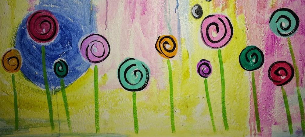 """Skirted"" original fine art by Kali Parsons"