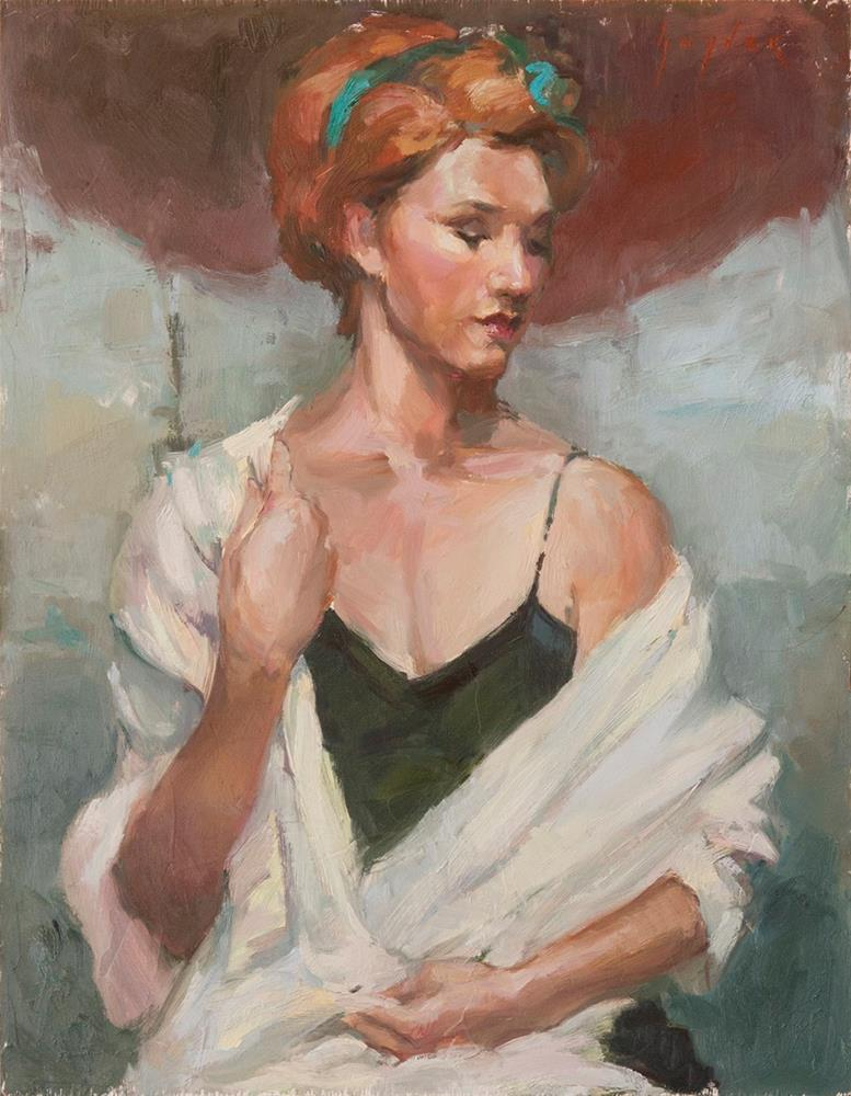 """""""Dreaming For Rain"""" original fine art by Julie Snyder"""