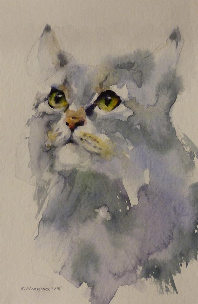 """adopt112"" original fine art by Katya Minkina"